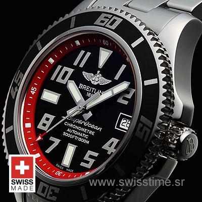 Breitling Superocean Chronograph II Red   Swiss Replica Watch