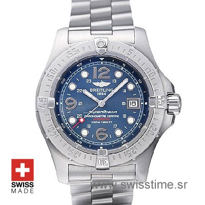 Breitling Superocean Steelfish Blue Dial | Swiss Replica Watch