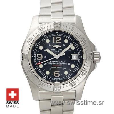 Breitling Superocean Steelfish A17360 | Blue Dial Replica Watch