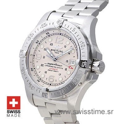 Breitling Superocean Steelfish SS White-735