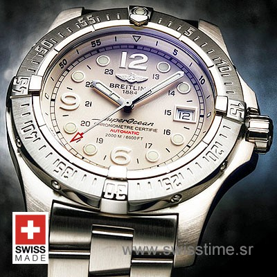 Breitling Superocean Steelfish SS White-736