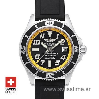 Breitling Superocean II SS Yellow