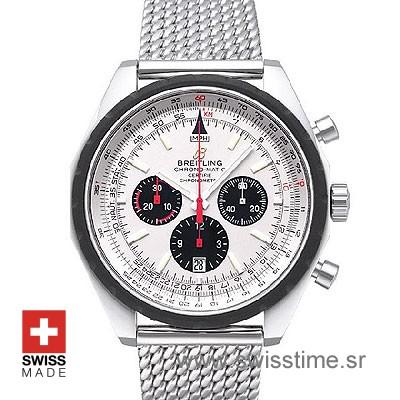 Breitling Chronomatic SS White-0