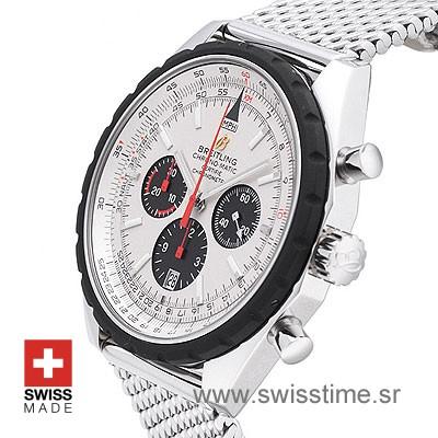Breitling Chronomatic SS White-672
