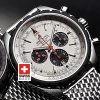 Breitling Navitimer Chrono Matic 49 Silver White Replica Watch