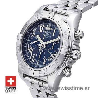 Breitling Chronomat B01 SS Blue Roman-633