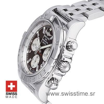 Breitling Chronomat B01 SS Brown-642