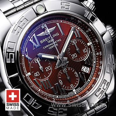 Breitling Chronomat 44 B01 Brown Dial | Swiss Replica Watch