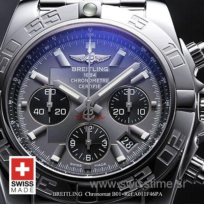 Breitling Chronomat B01 SS Graphite-653