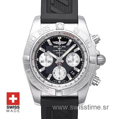 Breitling Chronomat B01 44mm Rubber Strap | Swisstime Watch