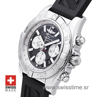 Breitling Chronomat B01 SS Black Rubber-624