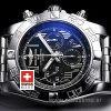 Breitling Chronomat B01 44 Roman Black Dial | Swisstime Watch