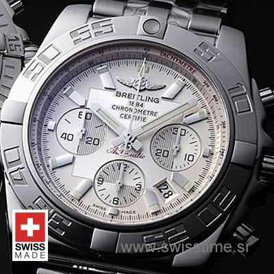 Breitling Chronomat B01 SS White-658