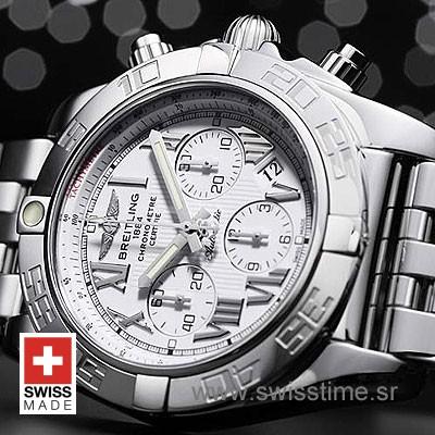 Breitling Chronomat B01 SS White Roman-663