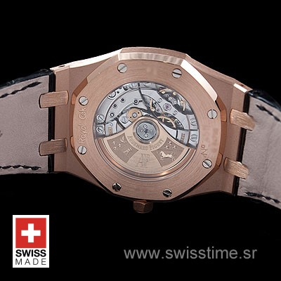 Audemars Piguet Royal Oak Jumbo Gold Black-2004