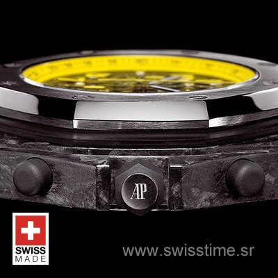 Audemars Piguet Royal Oak Offshore Bumble Bee Forged Carbon-875