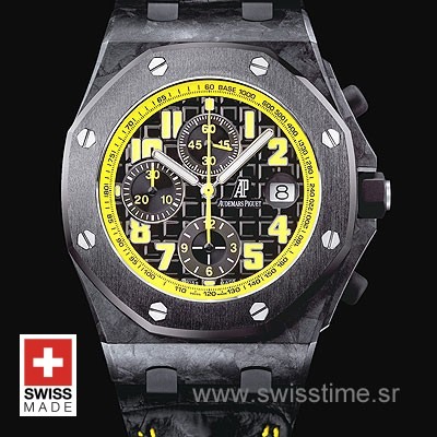 Audemars Piguet Royal Oak Offshore Bumble Bee Forged Carbon-874