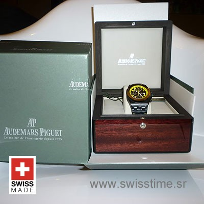 Audemars Piguet Royal Oak Offshore Bumble Bee Forged Carbon-873