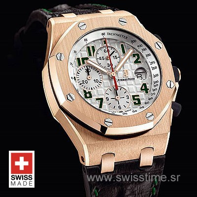 Audemars Piguet Royal Oak Offshore Pride Of Mexico Rose Gold-978