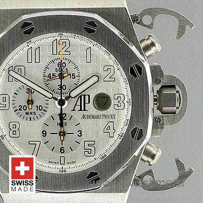 Audemars Piguet Royal Oak Offshore Terminator T3 White Titanium-1990