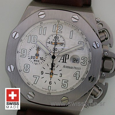 Audemars Piguet Royal Oak Offshore Terminator T3 White Titanium-1991