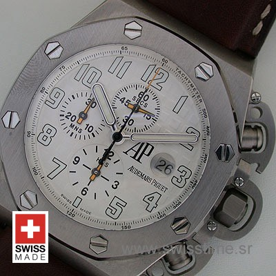Audemars Piguet Royal Oak Offshore Terminator T3 White Titanium-1993