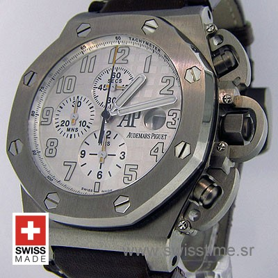 Audemars Piguet Royal Oak Offshore Terminator T3 White Titanium-1994