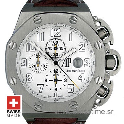 Audemars Piguet Royal Oak Offshore Terminator T3 White Titanium-0
