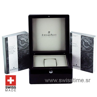 Free Swiss Replica Audemars Piguet Wood and Leather Box Set
