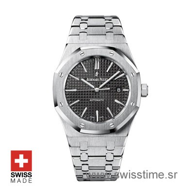 Audemars Piguet Royal Oak Automatic Black Dial | Swisstime