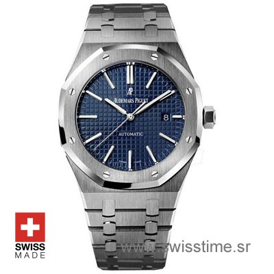 b4aa0938baa Audemars Piguet Royal Oak 15400 Blue 41mm SS | Swisstime
