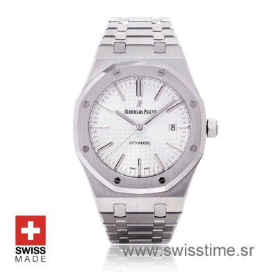 Audemars Piguet Royal Oak 15400 White 41mm Ss