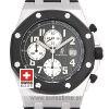 Audemars Piguet Royal Oak Offshore Black Rubber Strap Watch