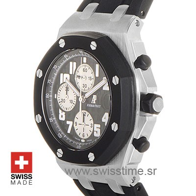 Audemars Piguet Royal Oak Offshore Black Rubber Glad 42mm Swiss Replica