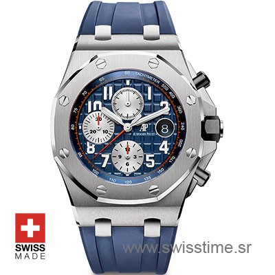 Audemars Piguet Royal Oak Offshore Blue 42mm Replica