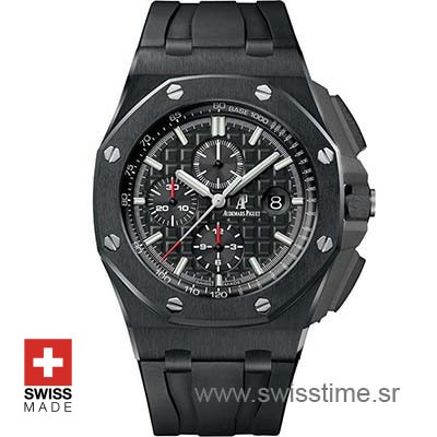 Audemars Piguet Royal Oak Offshore Ceramic Swisstime Watch