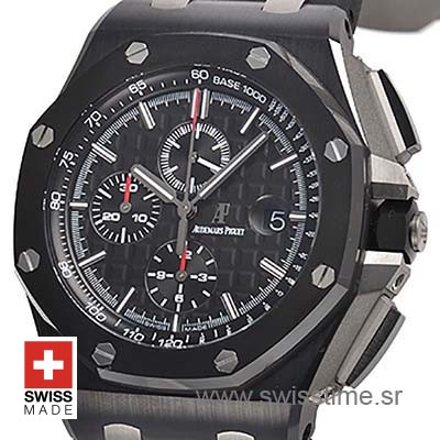 Audemars Piguet Royal Oak Offshore Chronograph DLC Ceramic 44m