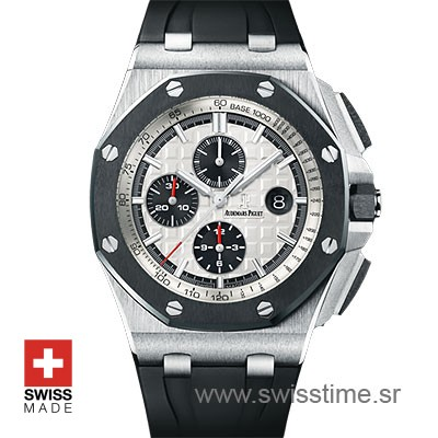 e95b991e98b Audemars Piguet Royal Oak Offshore Chronograph Steel 44m Swiss Replica