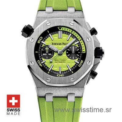 Audemars Piguet Royal Oak Offshore Diver Green | Swisstime