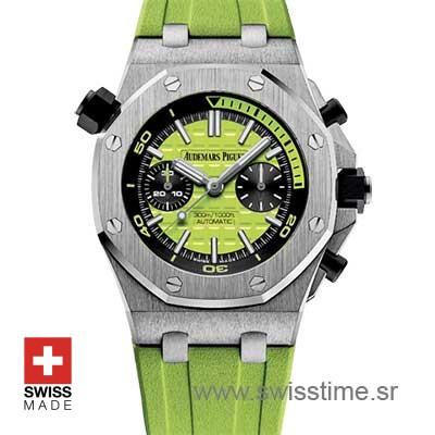 Audemars Piguet Royal Oak Offshore Diver Green | Swisstime