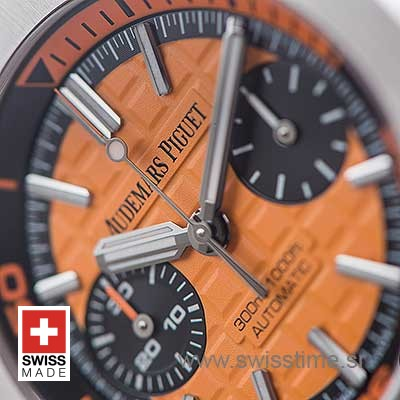Audemars Piguet Royal Oak Offshore Diver Orange | Swisstime