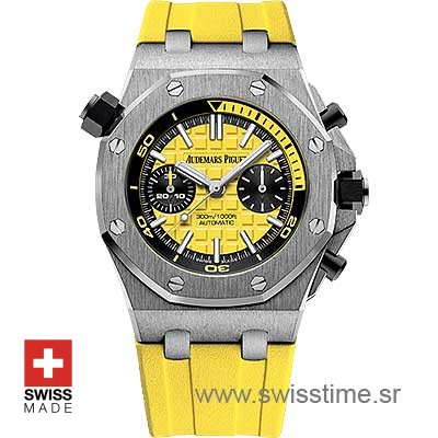 Audemars Piguet Royal Oak Offshore Diver Yellow | Swisstime