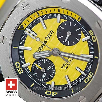 Audemars Piguet Royal Oak Offshore Diver Chronograph Yellow 42mm