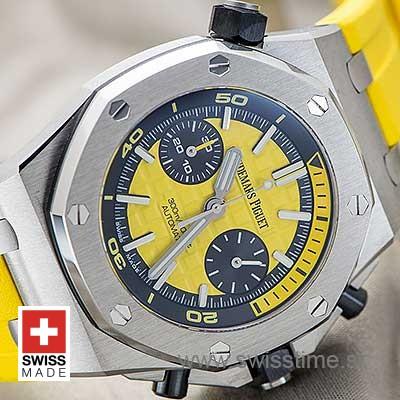 Audemars Piguet Royal Oak Offshore Diver Chronograph Yellow 42mm