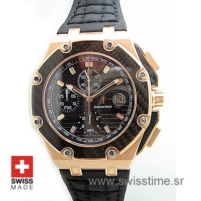 Audemars Piguet Juan Pablo Montoya Rose Gold Replica Watch