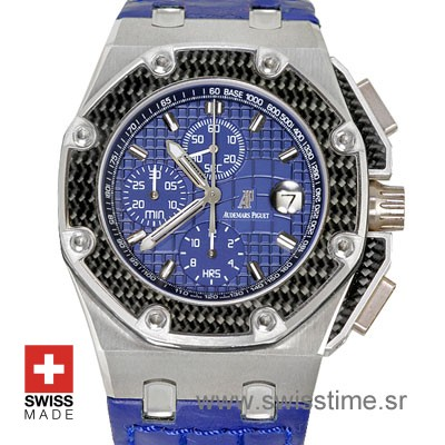 Audemars Piguet Royal Oak Offshore Juan Pablo Montoya 45mm Titanium Blue