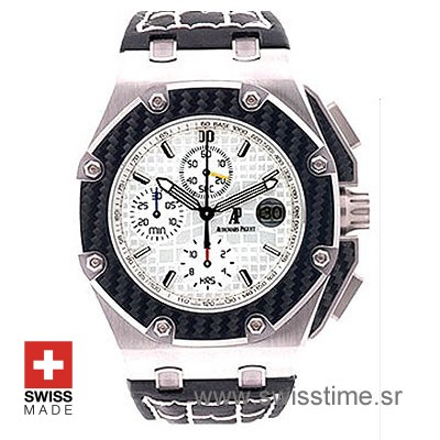 Audemars Piguet Royal Oak Offshore Juan Pablo Montoya 45mm Titanium White