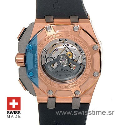 Audemars Piguet Royal Oak Offshore Michael Schumacher Gold 44mm Replica