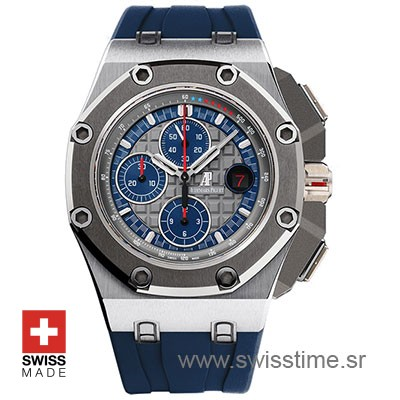 Audemars Piguet Royal Oak Offshore Michael Schumacher Platinum 44mm Replica