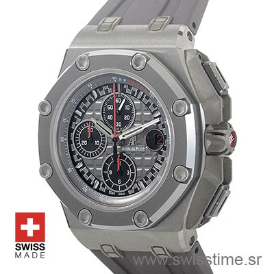 Audemars Piguet Royal Oak Offshore Michael Schumacher Titanium 44mm Replica